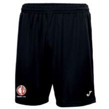Crewe United Nobel Shorts Black - Adults